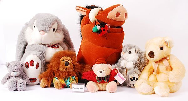 3002: A Collection of Plush Toys