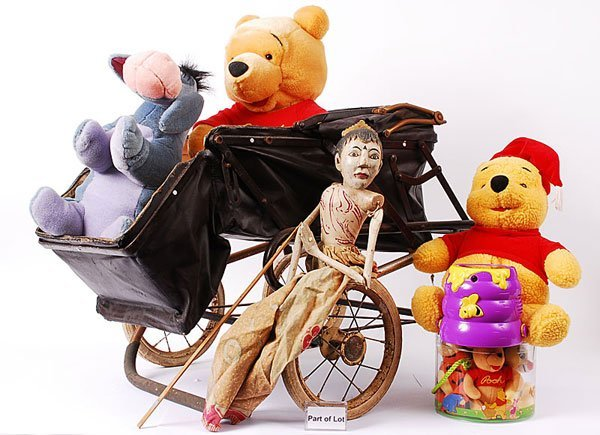 3006: Hubcar Dolls Pram & Others