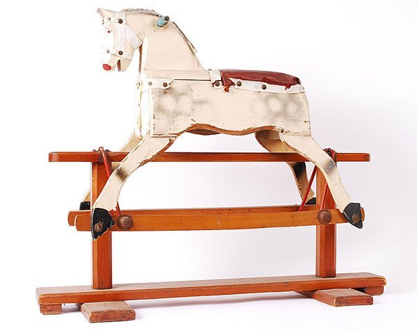 3008: Triang Wooden Rocking Horse