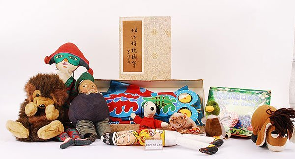 3014: Force Flakes Sunny Jim Cloth Doll & Others