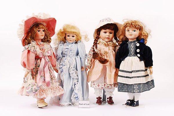 3017: Modern Bisque Dolls x 12