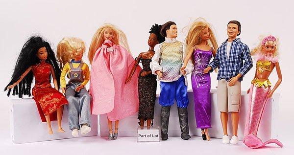3019: 16 x Modern Barbie & Other Fashion Dolls