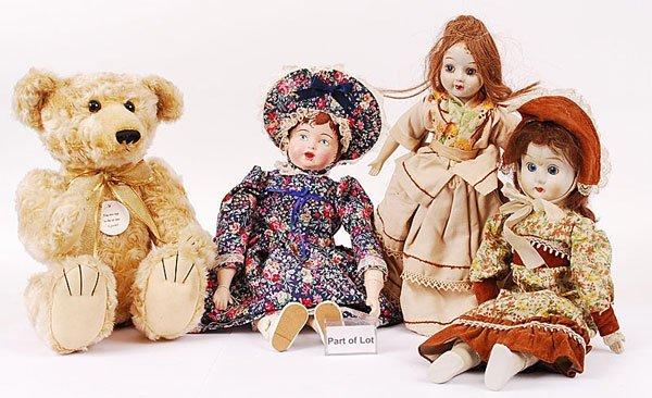 3021: Russ Barrington Plush Teddy Bear & Others