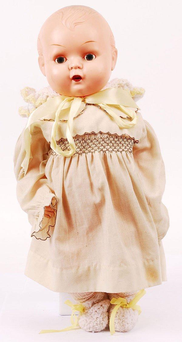 3022: Kader Hard Plastic Baby Doll