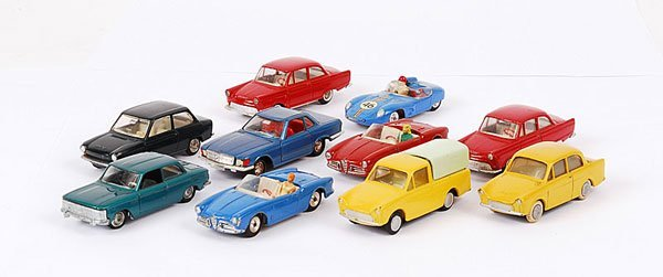 3120: Marklin, Tekno, Lion and Other 1/43rd scale Cars