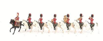 4134 Britains  From Set 1720  Scots Greys Band