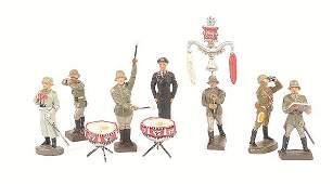4180: Elastolin, Lineol-WWII Cavalry