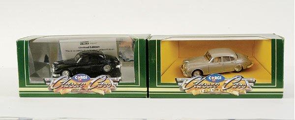4014: Corgi - a group of 4 No.D700 Jaguar Mk.II models