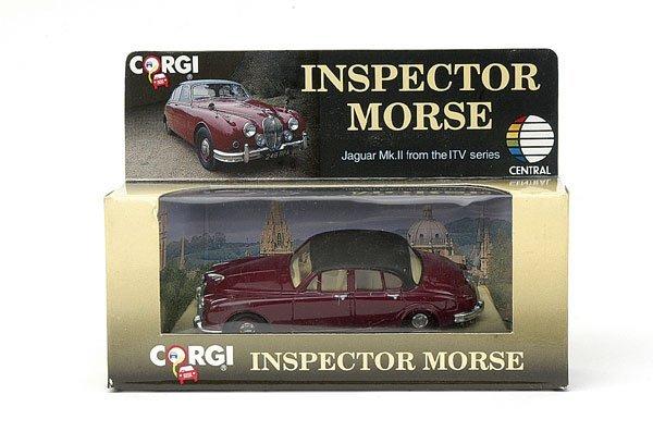 "4019: Corgi No.96682 1st issue ""Insp. Morse"" Jaguar"