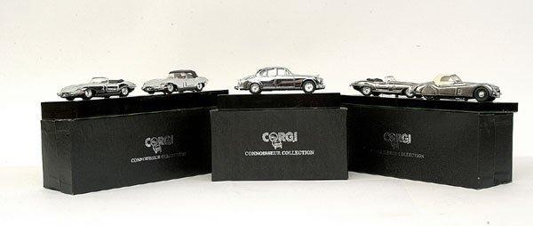 4021: Group of 3 Corgi Connoisseur Collection Jaguars