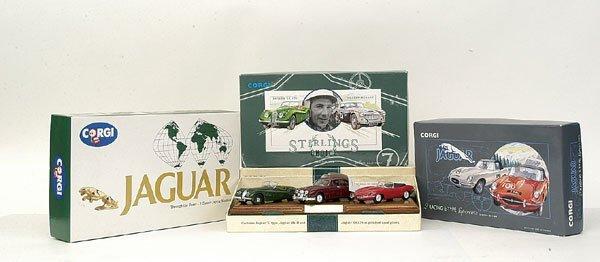 4025: Corgi Classics - a group of 4 Jaguar Gift Sets