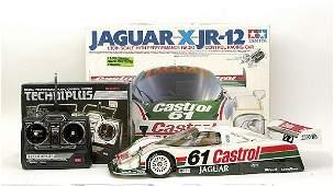 4295: Tamiya remote control Jaguar Racing Car