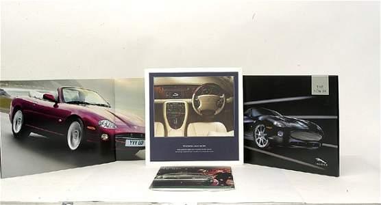 4372: Large quantity of Jaguar Dealer Brochures etc.