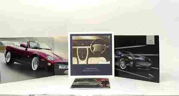 Large quantity of Jaguar Dealer Brochures etc.