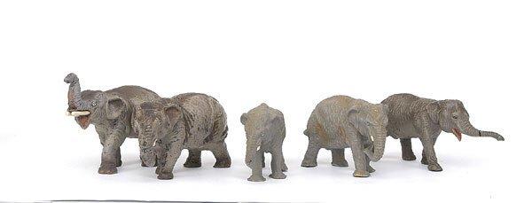 5508: Elastolin, Lineol & similar - Animals.