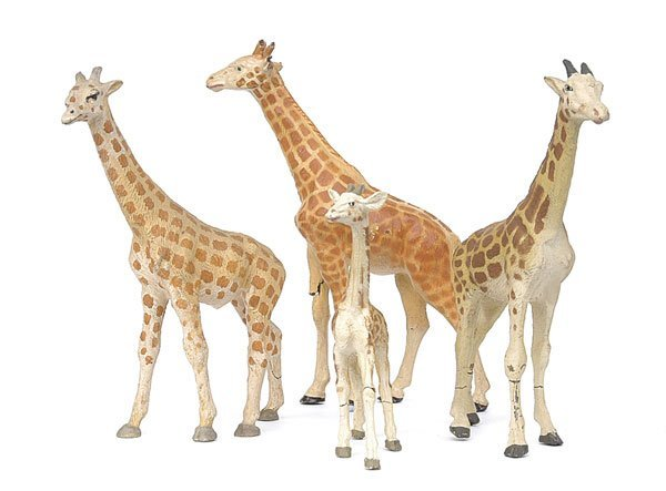 5509: Elastolin, Lineol & similar - Animals.
