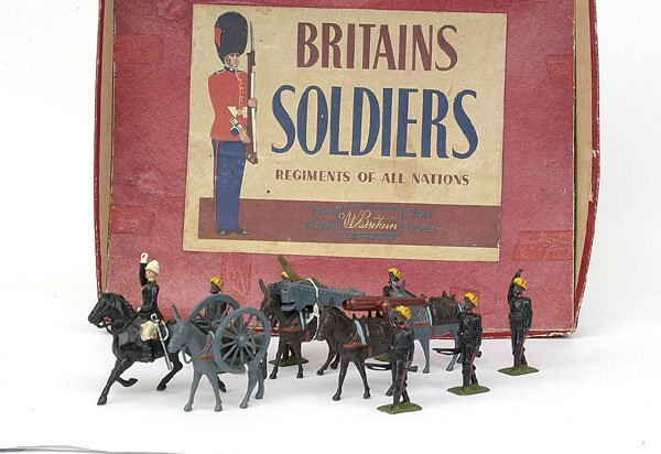 5765: Britains Set2013 Indian Army Mountain Battery