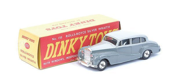 9: Dinky - No.150 Rolls Royce Silver Wraith
