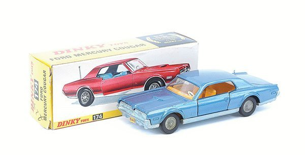 22: Dinky - No.174 Ford Mercury Cougar