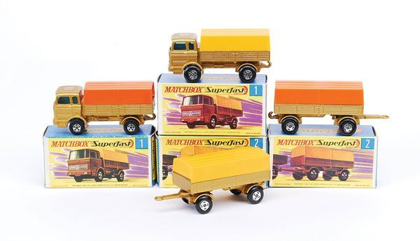 1001: Matchbox No.1 Mercedes LP Covered Truck