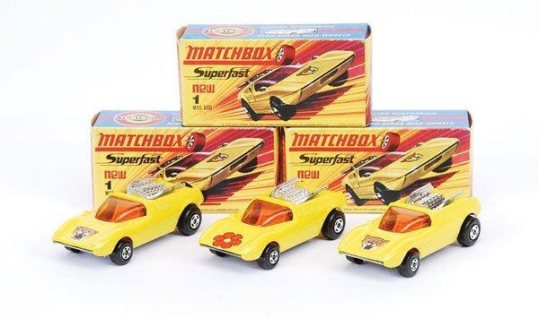 1003: Matchbox Superfast - 3 x No.1 Mod Rod