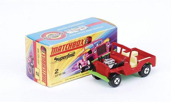 1007: Matchbox Superfast - No.2 Jeep Hot Rod