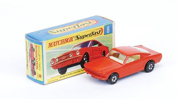 1024: Matchbox Superfast - No.8 Ford Mustang