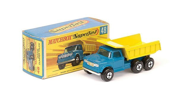 1186: Matchbox No.48 Dodge Kew Fargo Dump Truck