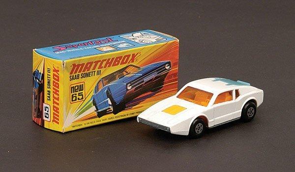 1253: Matchbox Superfast - No.65 Saab Sonett