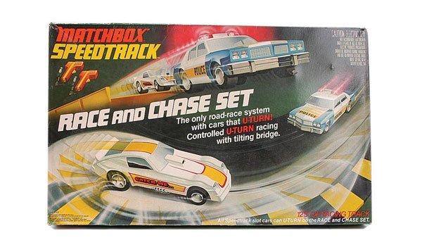 Matchbox slot car race set reel gems slot machine