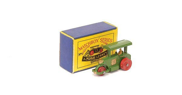 2001: Matchbox No.1a Aveling Barford Road Roller