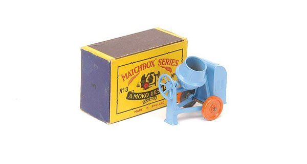 2013: Matchbox No.3a Site Mixer
