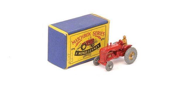2017: Matchbox No.4a Massey Harris Tractor