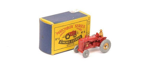 2018: Matchbox No.4a Massey Harris Tractor