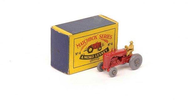 2020: Matchbox No.4b Massey Harris Tractor