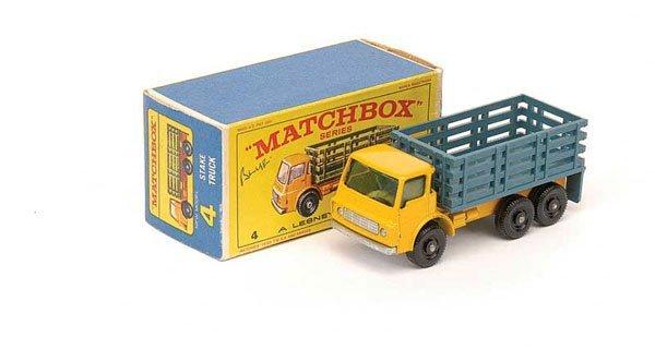 2022: Matchbox No.4d Dodge Stake Truck