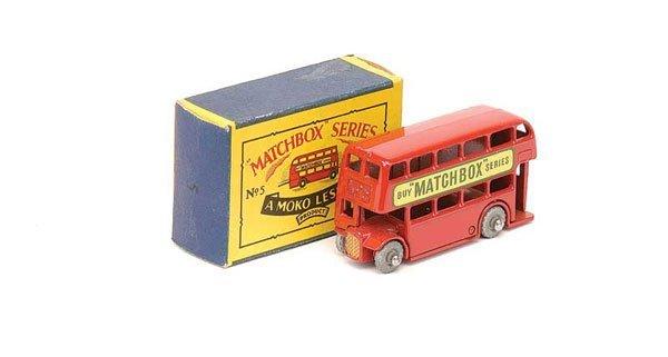 "2024: Matchbox No.5b London Bus ""Buy Matchbox Series"""