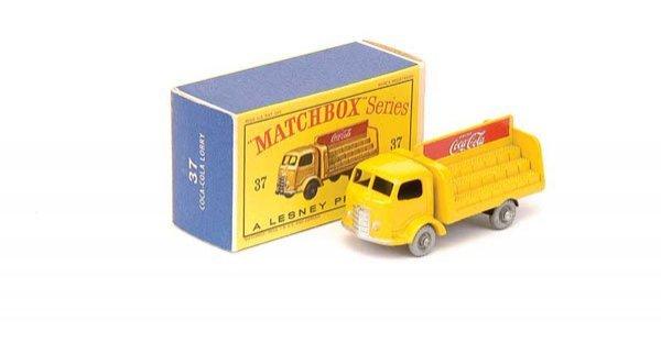 2241: Matchbox No.37b Karrier Bantam Coca Cola Truck