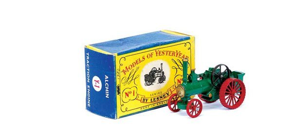3002: Matchbox MOY Y1 Allchin Traction Engine