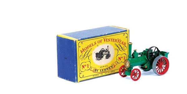 3003: Matchbox MOY Y1 Allchin Traction Engine