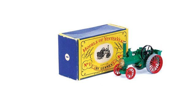 3004: Matchbox MOY Y1 Allchin Traction Engine
