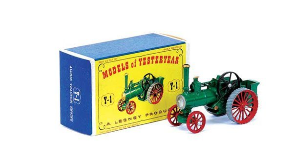 3005: Matchbox MOY Y1 Allchin Traction Engine
