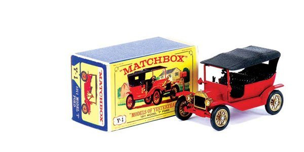 3007: Matchbox MOY Y1 Ford Model T