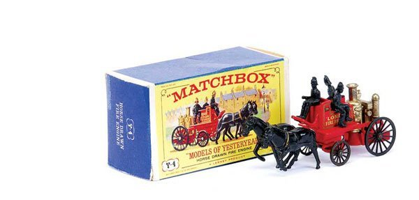 3021: Matchbox MOY Y4 Shand Mason Fire Engine