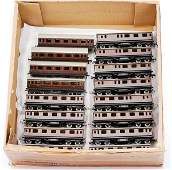 4488: Trix Railways Repainted Short Bogie Coaches