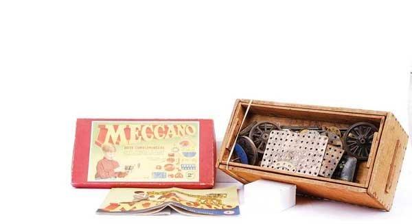 2: Meccano Pre-war Nickel Parts