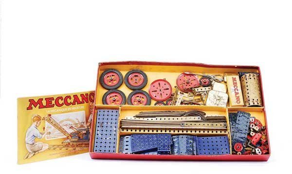 3: French Meccano - A Pair of Sets
