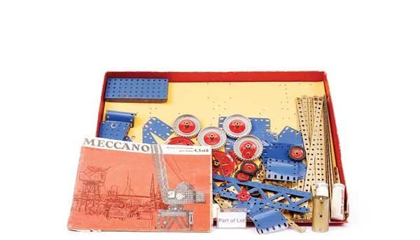 4: French Meccano - A Pair of Sets