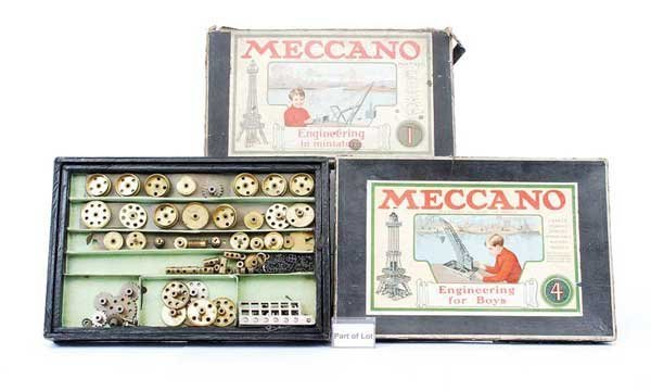 8: Meccano - A Group of Early Sets