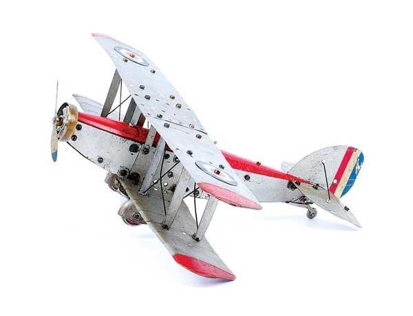 12: Meccano No.2 Constructor Aeroplane